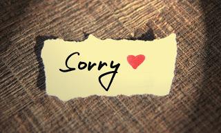 Apologies!
