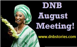 DNB August Meeting!!!