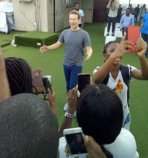Mark Zuckerberg in Nigeria – All the Emotions!!!