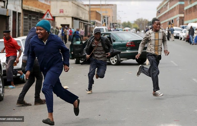 Anti-immigrant riots erupt in South Africa