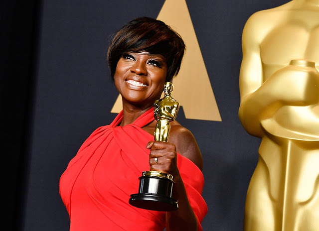 Viola Davis and her moving acceptance speech at the 2017 Oscars