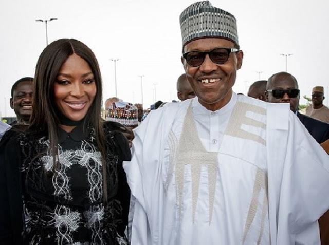 'We did not invite Naomi Campbell' – Nigerian Presidency