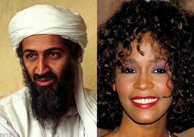 Osama bin Laden once wanted to MARRY Whitney Houston