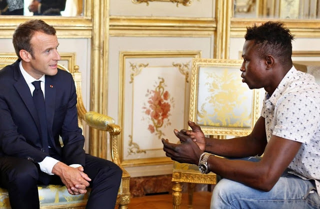 All about the 'African Spider-Man' who saved a child from high building in France!