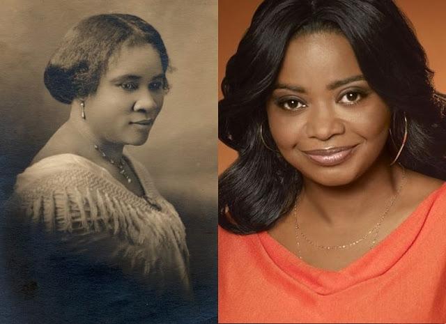 Octavia Spencer to play America's first black beauty mogul