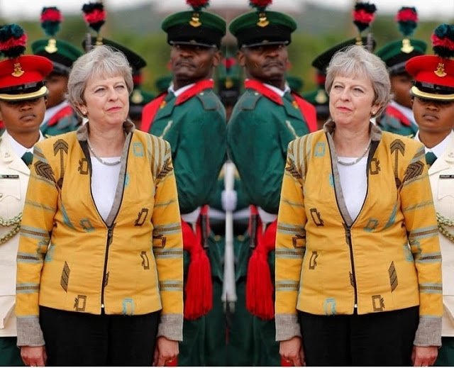 Meet the Nigerian designer that made Theresa May's beautiful jacket