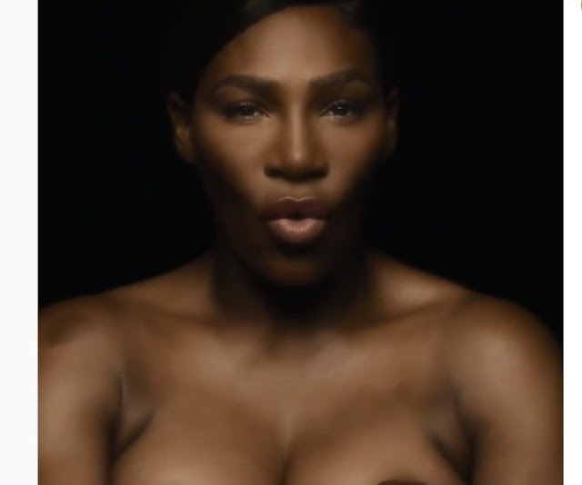 "Serena Williams singing ""I Touch Myself"" for breast cancer awareness is so cute"