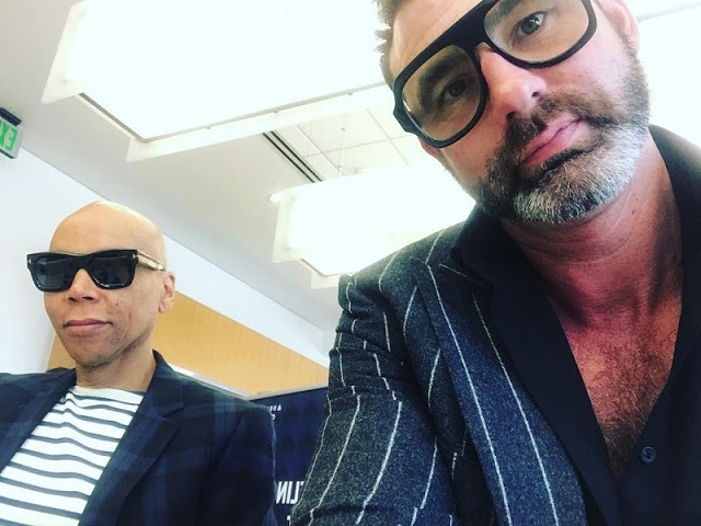 RuPaul celebrates his marriage to writer, Georges LeBar