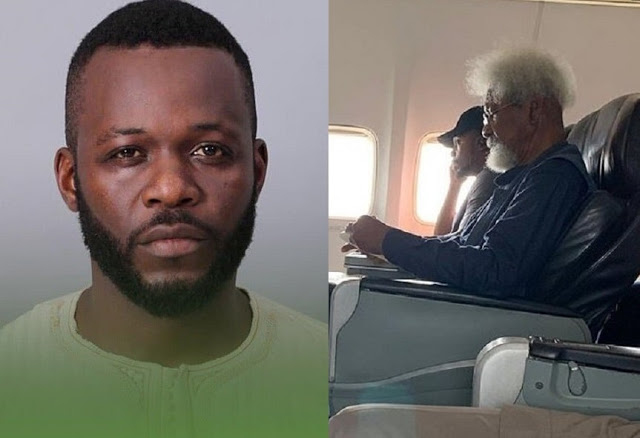 Young man from Wole Soyinka's flight incident replies Tonye Cole