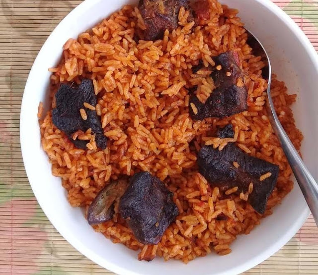 Photos of Jollof Rice prepared with rat meat goes viral