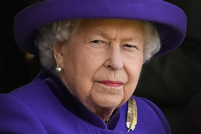 What is the movie the Queen of England appeared in?