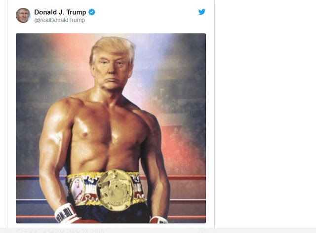 Trump posted his shirtless picture online and Twitter went WILD