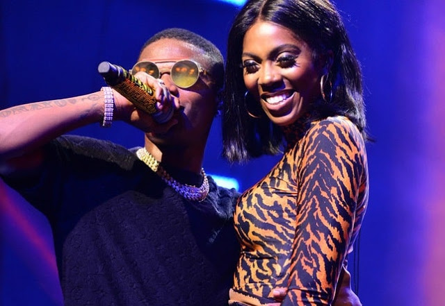 Video of Wizkid 'rocking' Tiwa Savage at One Africa Music Fest gets fans talking