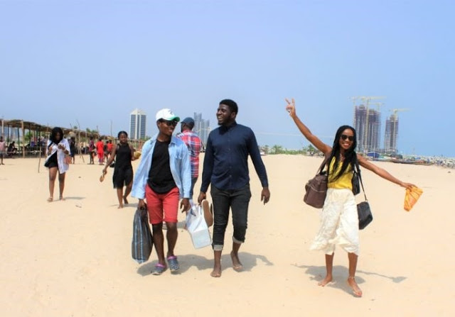 My experience visiting Tarkwa Bay Beach in Lagos
