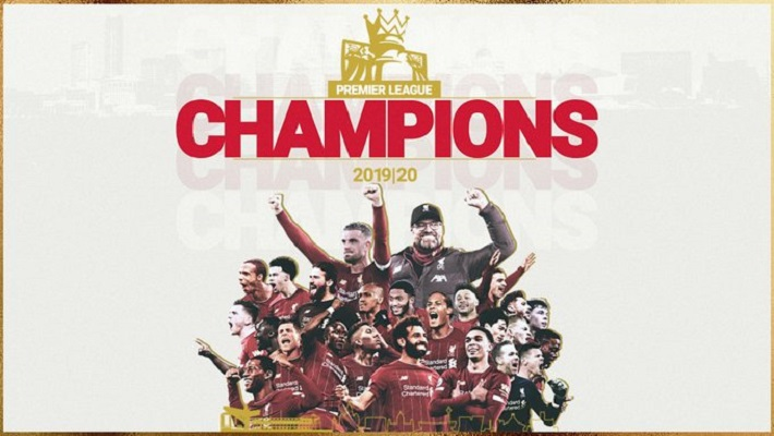 Liverpool crowned champions of Premier League after 30 years