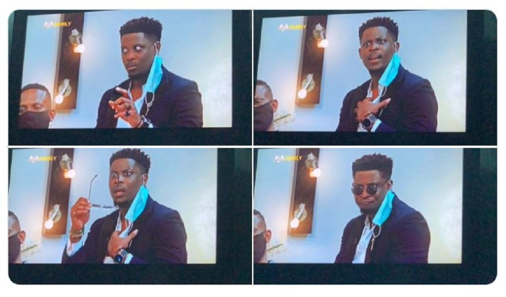 The many faces of Seyi Awolowo at the Pepper Dem Reunion Show