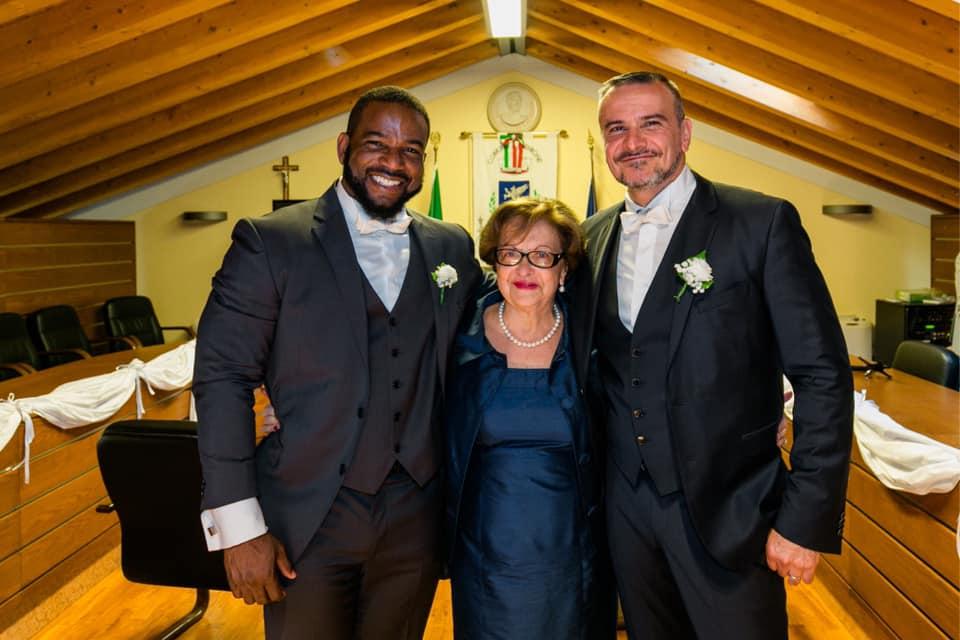 Openly gay Nigerian brand expert Kehinde Bademosi celebrates wedding anniversary