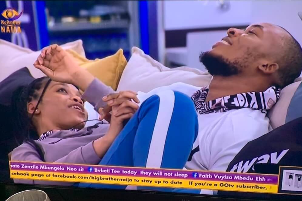 BBNaija fans react to Lilo and Eric's quick romance in the house ...