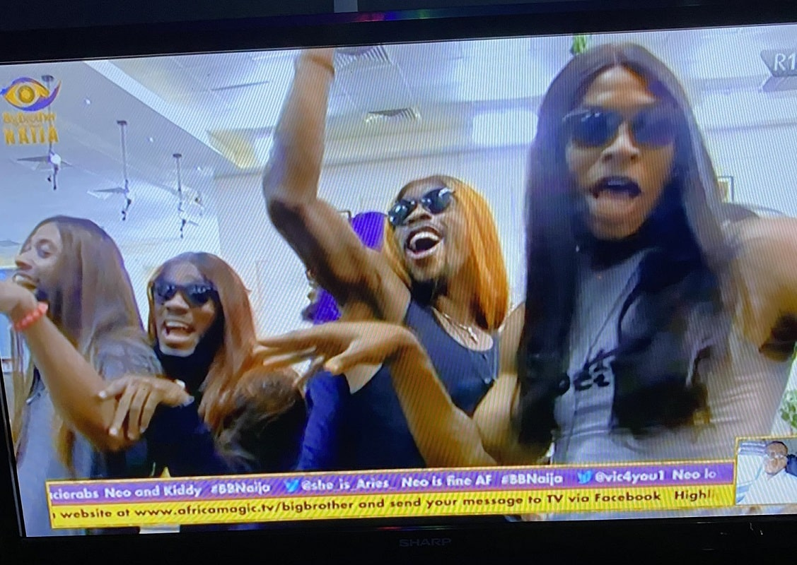 Bobrisky trends as BBNaija housemates wore wigs and scream 'Oshee Baddest'