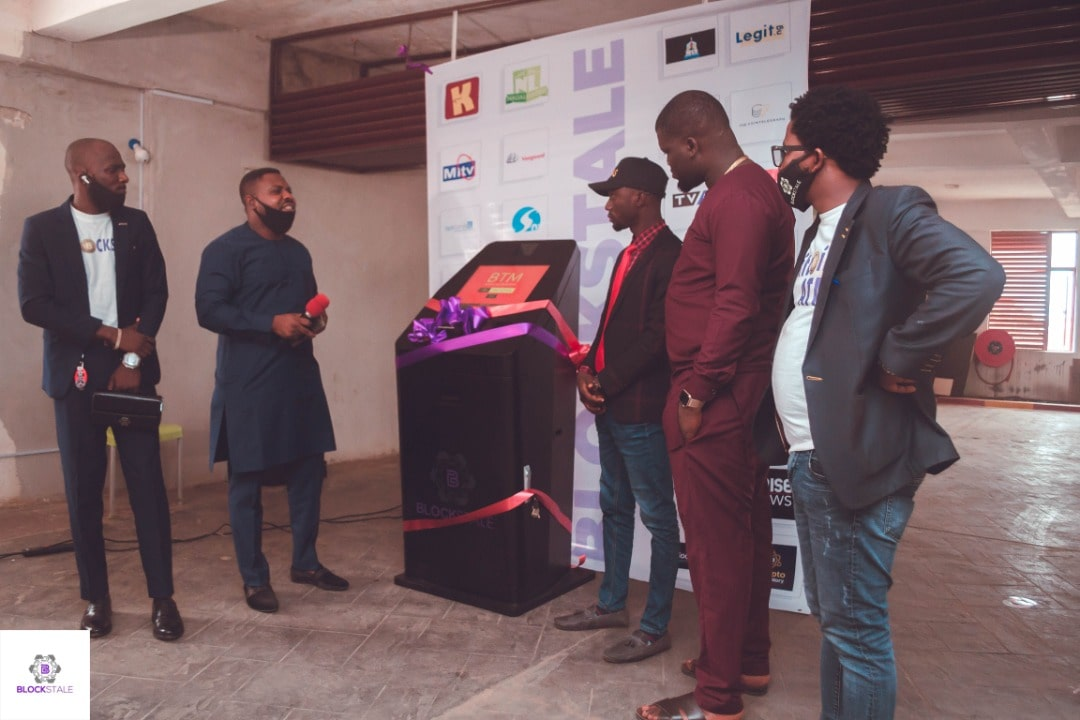 Twitter users celebrate the arrival of Nigeria's first Bitcoin ATM