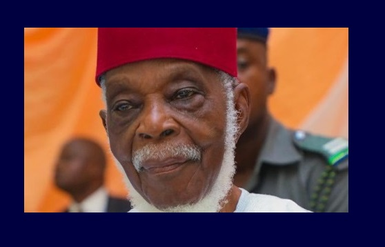 Former senator and Afenifere leader, Pa Fasanmi is dead
