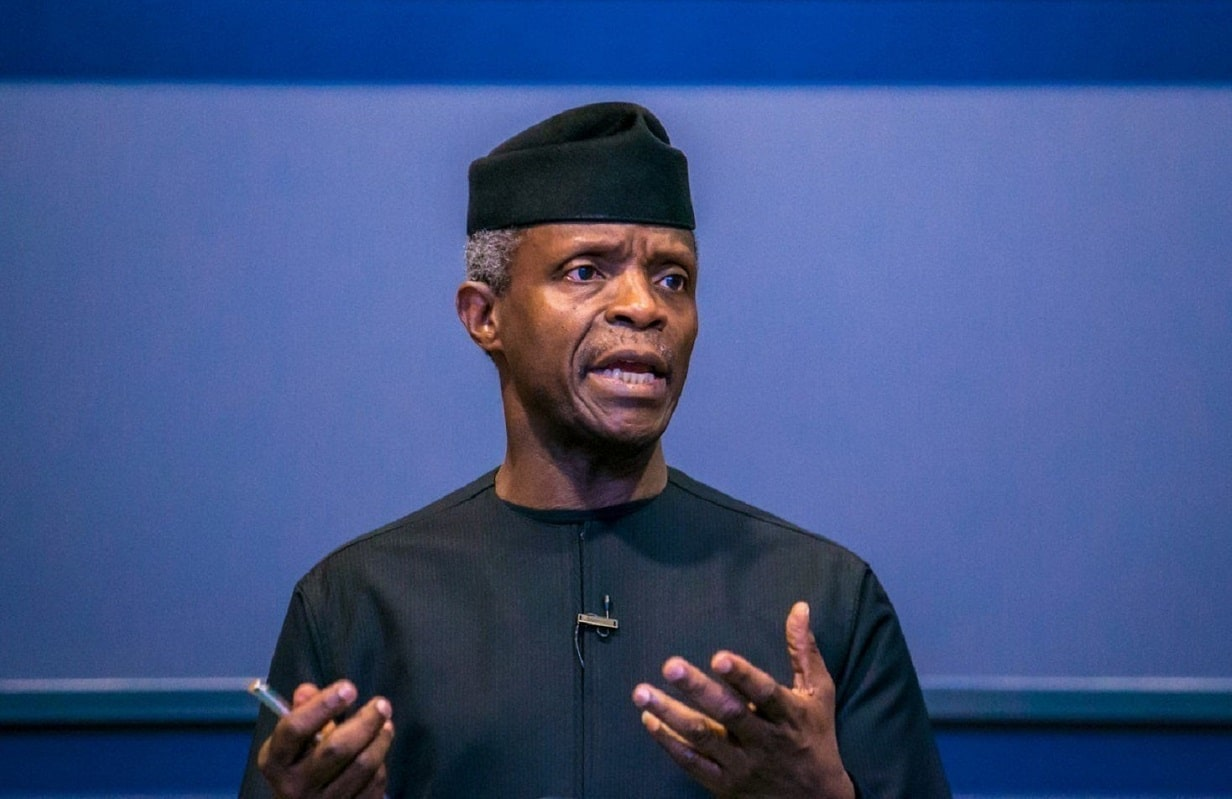 Yemi Osinbajo files petition against blogger Jackson Ude over 'defamatory' article