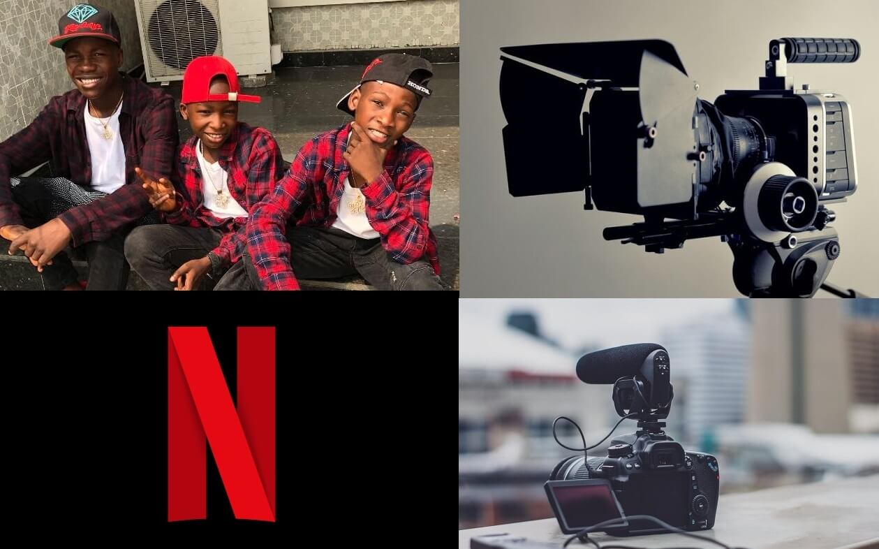 Netflix surprises Ikorodu Bois with gift of filmmaking equipment
