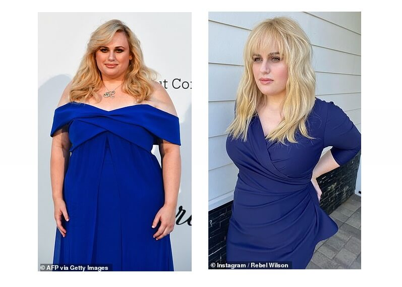 Actress Rebel Wilson flaunts slim figure, shocks her fans