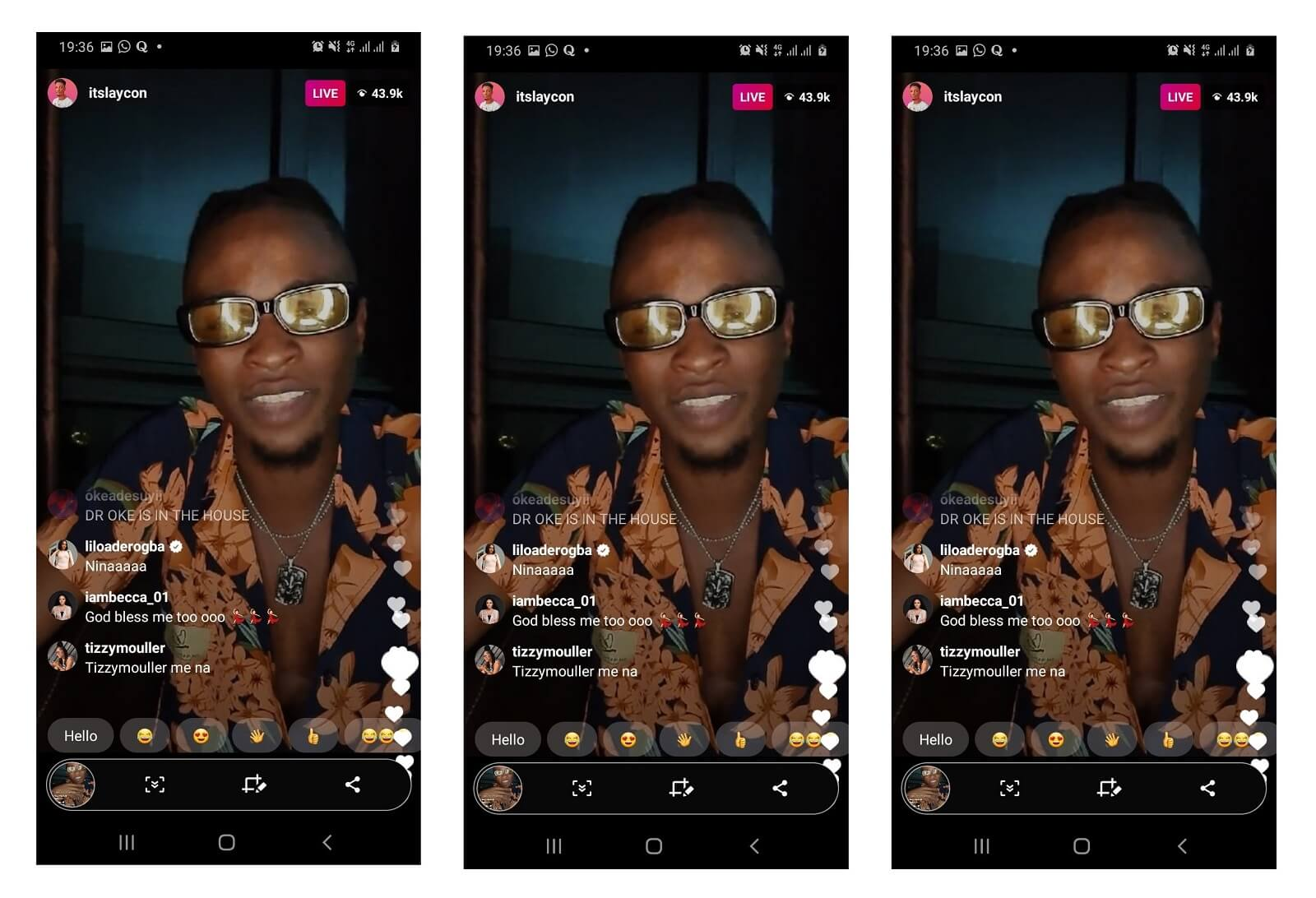 BBNaija Laycon's first Instagram live hosts over 43K viewers
