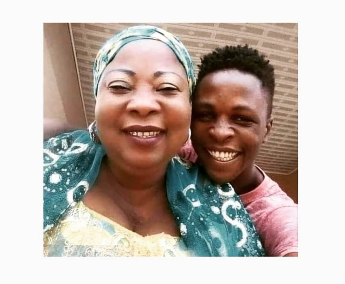 Beautiful photo of BBNaija Laycon and his mother trends online