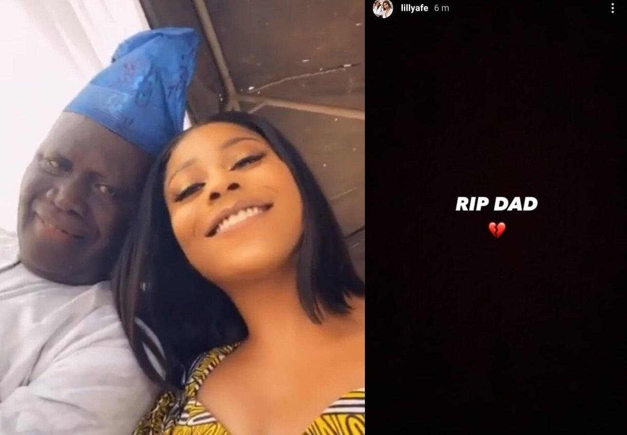 Nollywood actress Lilian Afegbai loses father