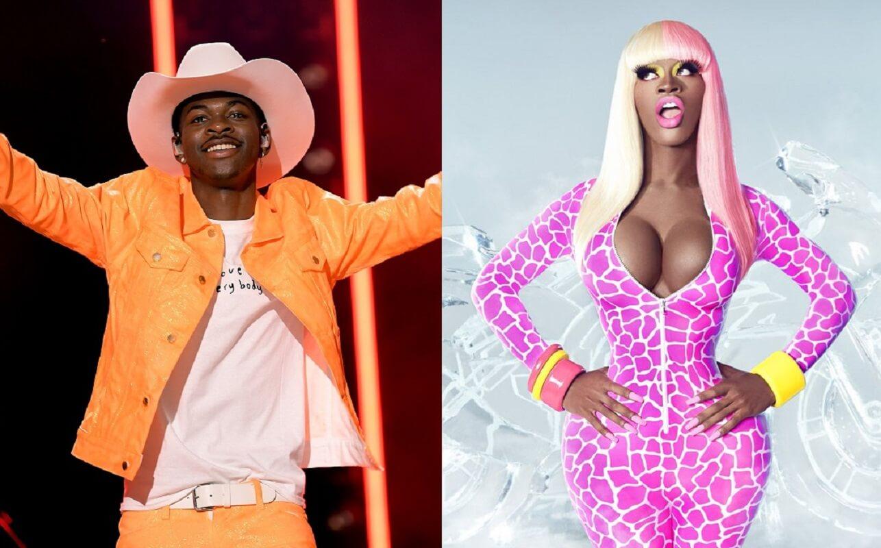 Lil Nas X dresses up as Nicki Minaj for 2020 Halloween