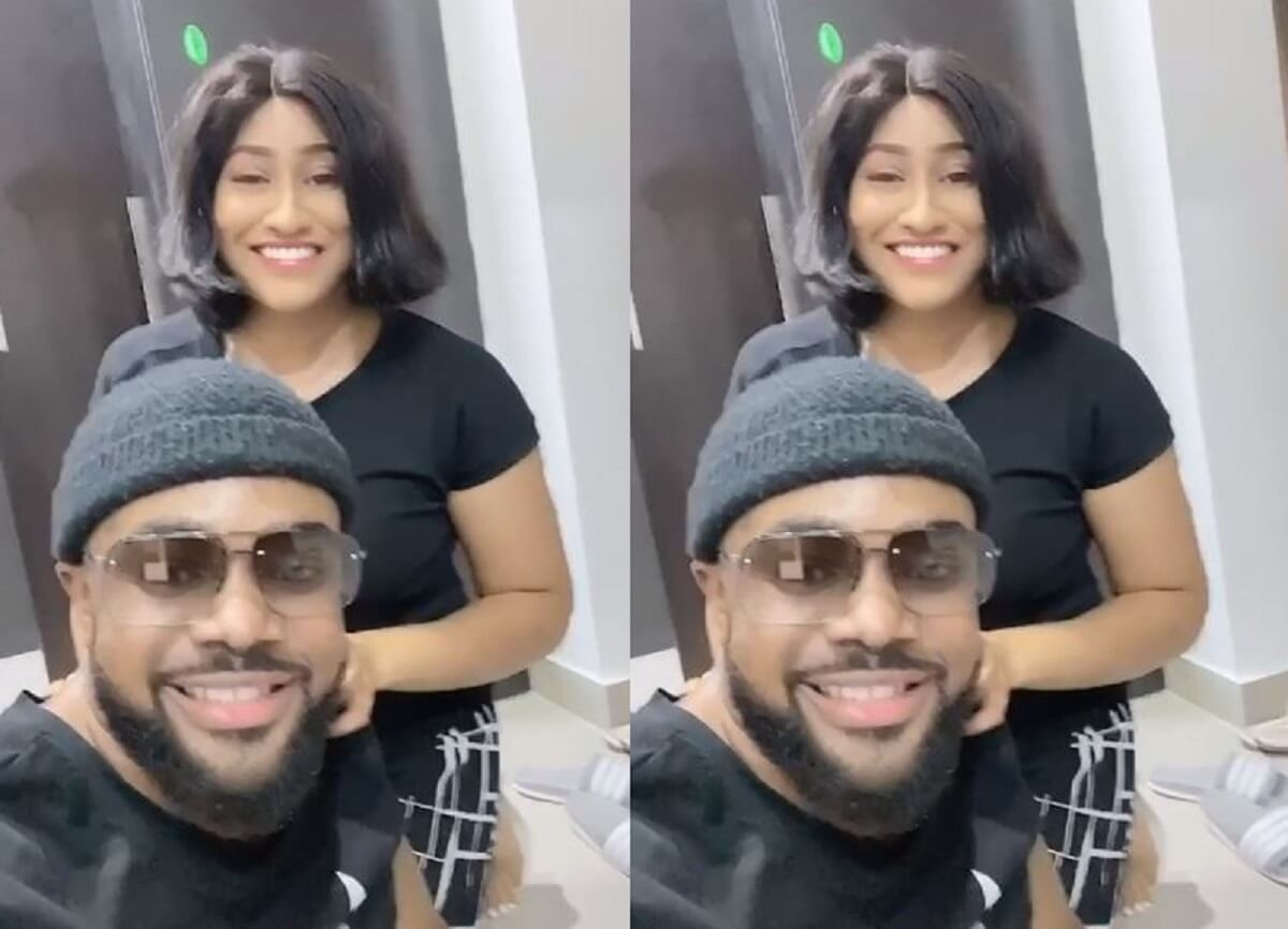Comedian Williams Uchemba shows off fiancee on Instagram