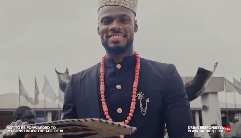 BBNaija Prince signs multi-million naira deal with Guinness Nigeria