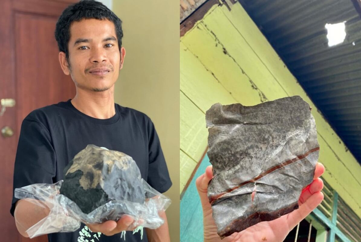 Man becomes instant millionaire after meteorite worth £1.4m crashed through his roof