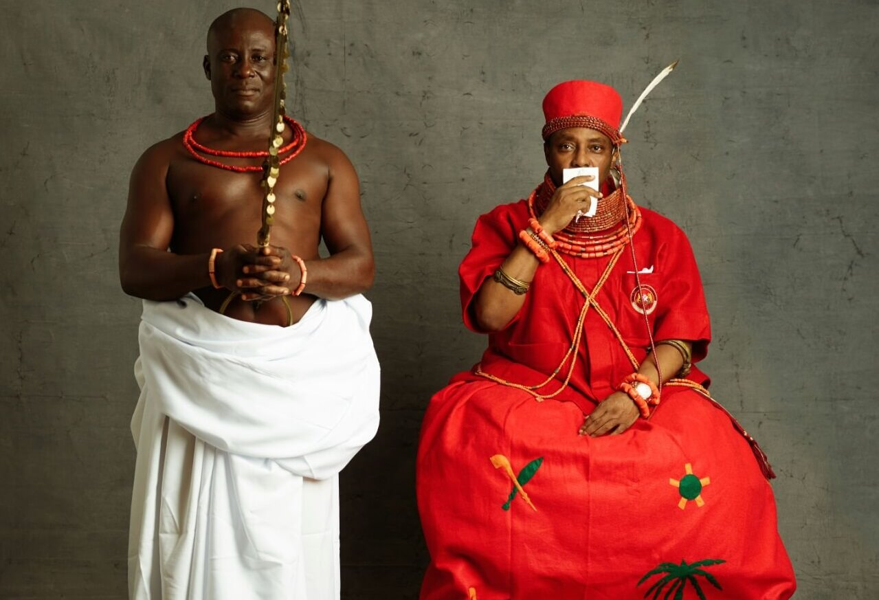 Is the Oba of Benin allowed to see the crown prince?