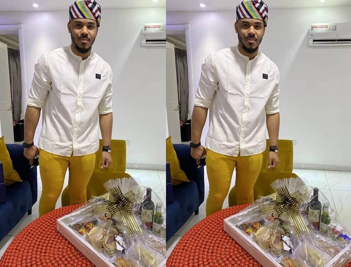 BBNaija Ozo causes social media stir with his 'yellow leggings'