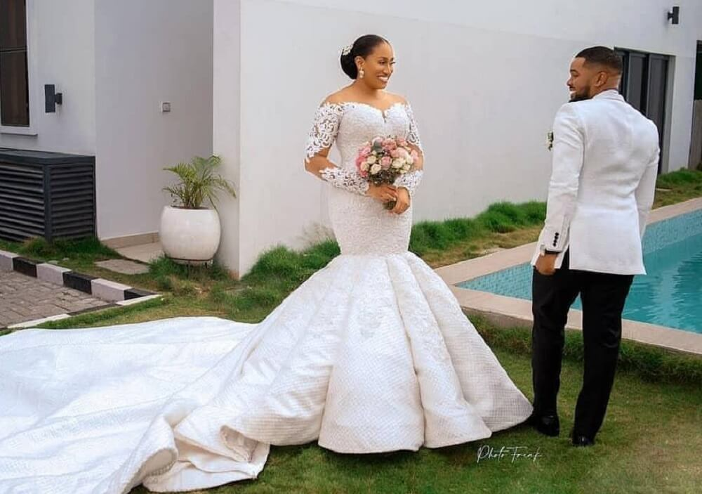 Photos and videos from Williams Uchemba's star-studded white wedding