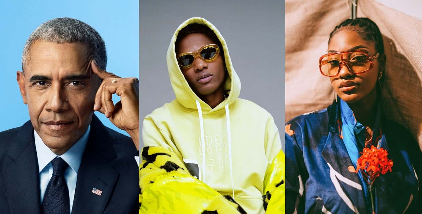 Wizkid and Tems make Obama's list of 2020 favourite songs