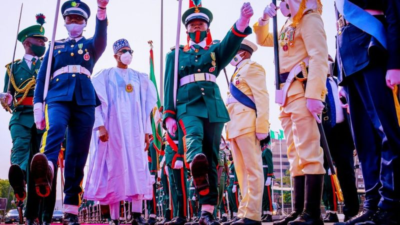 Photos and video from Nigeria's Armed Forces Remembrance Day