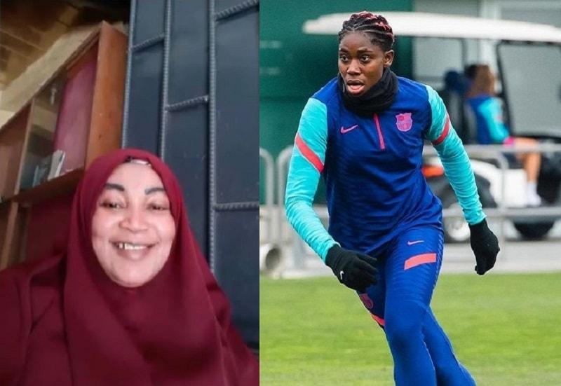 Nigerian footballer Asisat Oshoala loses mom