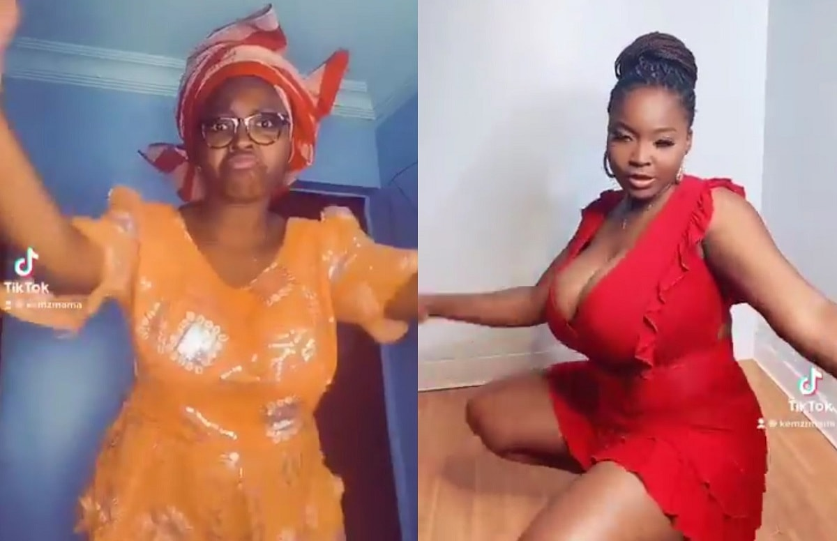Comedian Mummy Wa transforms to 'Freaky Freaky' in Twitter #BussItChallenge