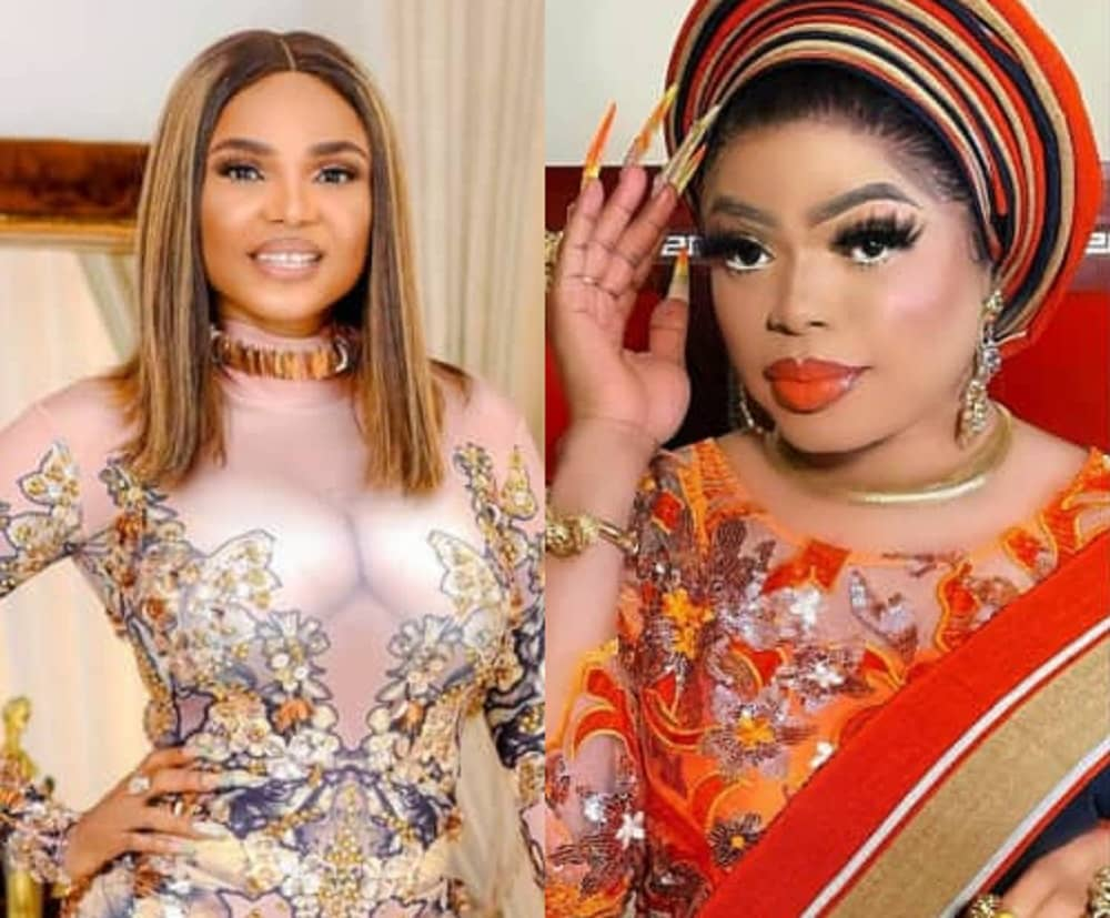 Bobrisky reacts to video of Iyabo Ojo insulting fans who beg her money