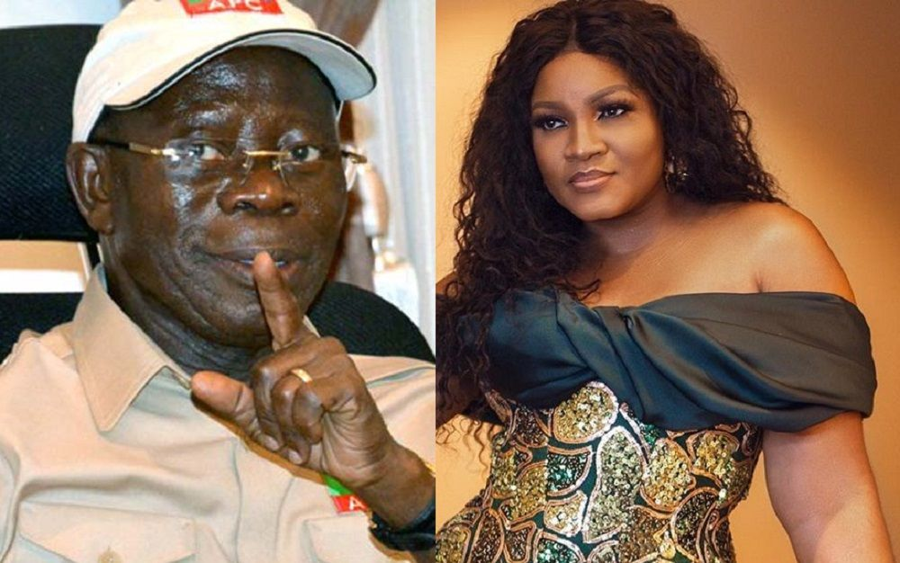 Omotola gives Gistlovers blog 24 hours to prove story about her relationship with Oshiomhole
