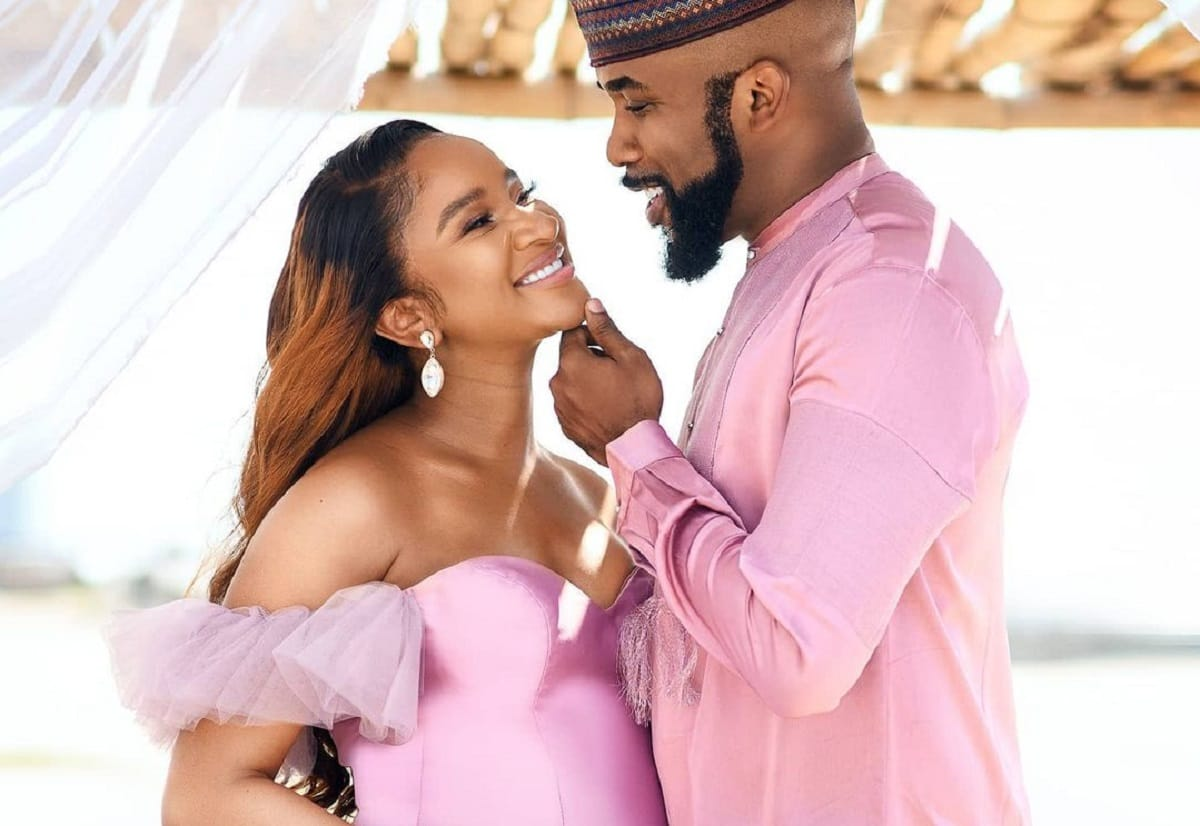 'Why we named our son Zaiah' – Banky W