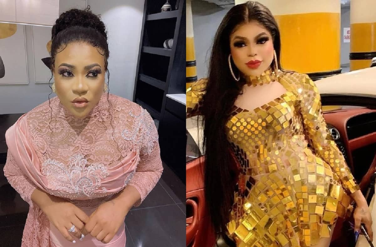 How the dirty fight between Nkechi Blessing and Bobrisky started on Instagram