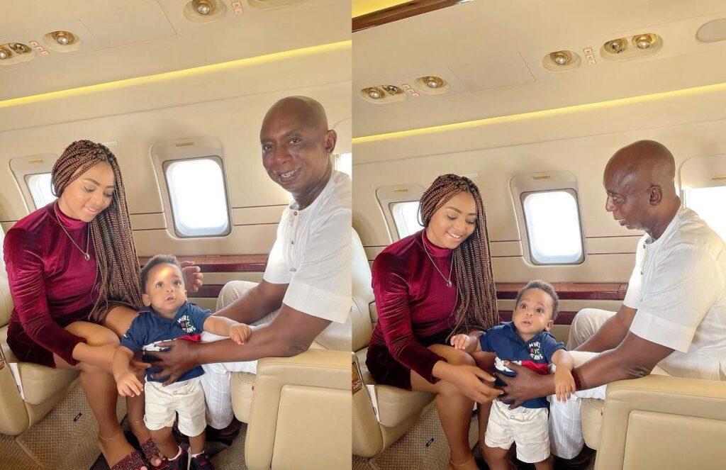 « Je suis obsédée par ses jambes » : Regina Daniels à propos de son mari Ned Nwoko